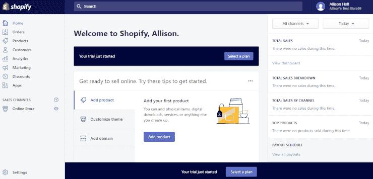 shopify-dashboard