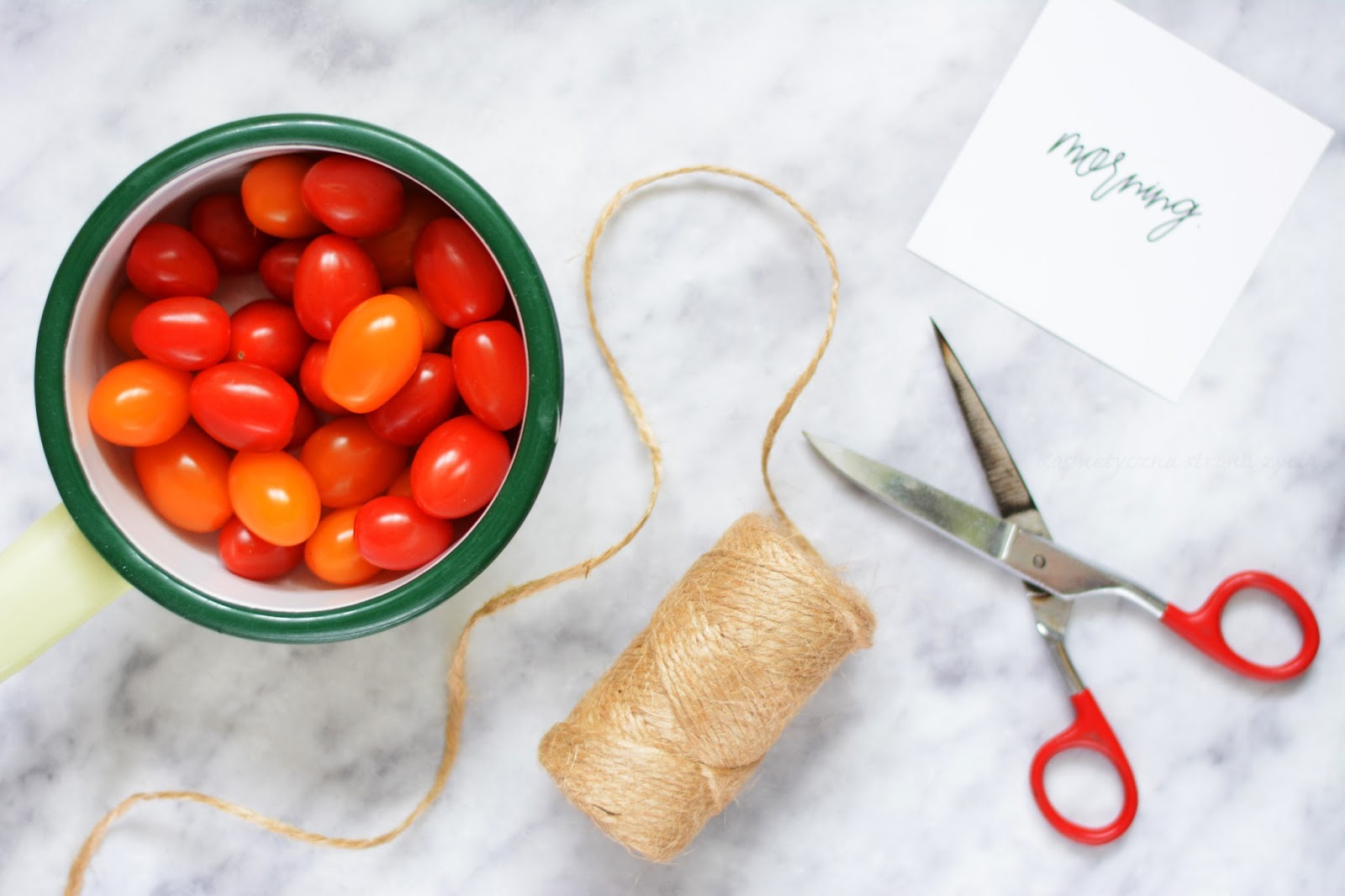 Plany wakacyjne - duka - pomidorki - love