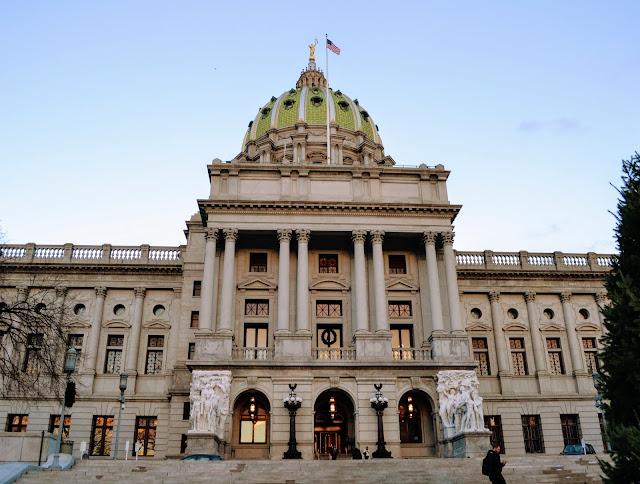Капітолій штату Пенсильванія. Гаррісберг, Пенсильванія (Pennsylvania State Capitol, Harrisburg, PA)