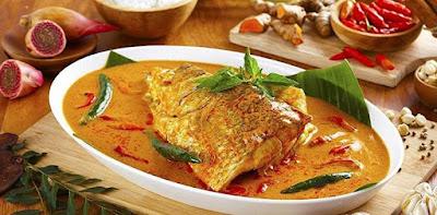 Resep Gulai Kepala Ikan Kakap