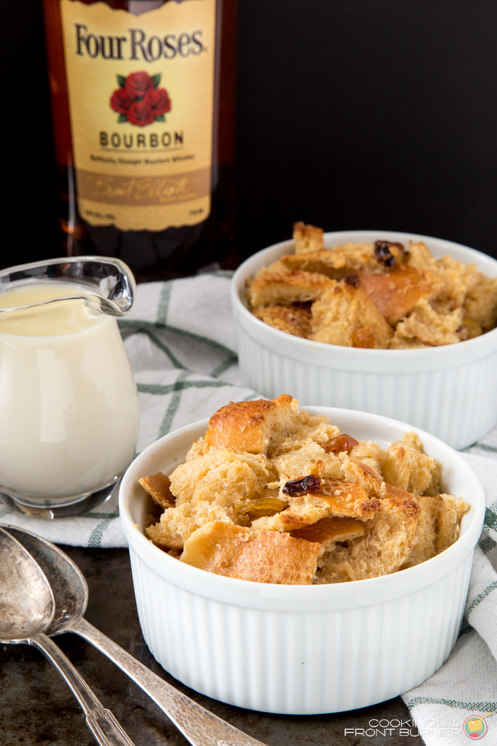 Bourbon Bread Pudding | Cooking on the Front Burner