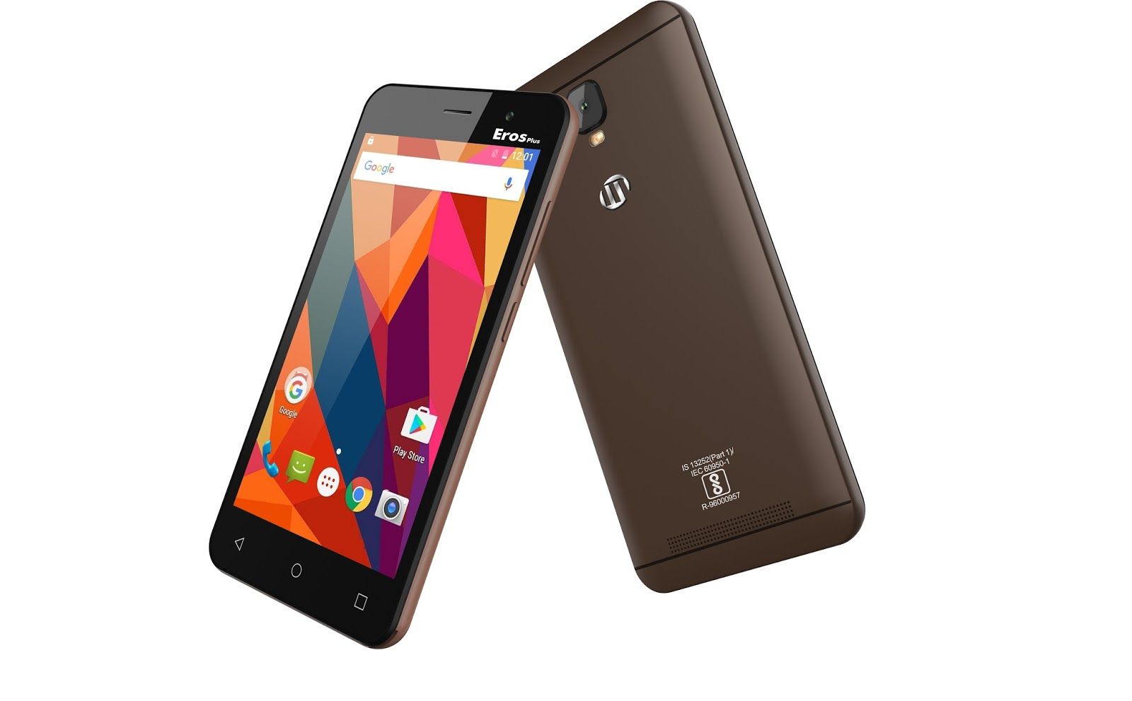 M-tech Eros Plus Black version smartphone