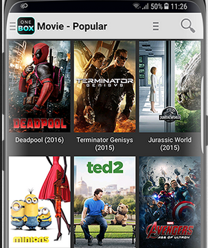 OneBox HD Apk App Free Movies On Android, Amazon Fire Devices - New