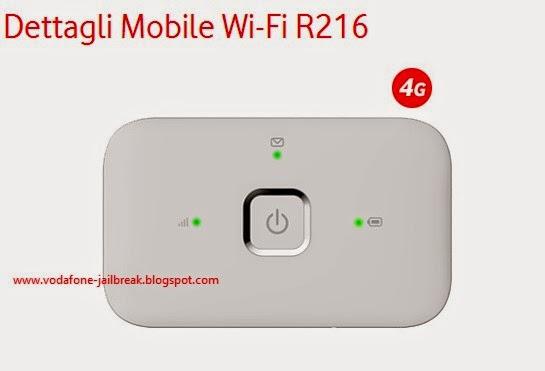 Jailbreak R216 Unlock ITALY Vodafone R216 4G huawei Mobile