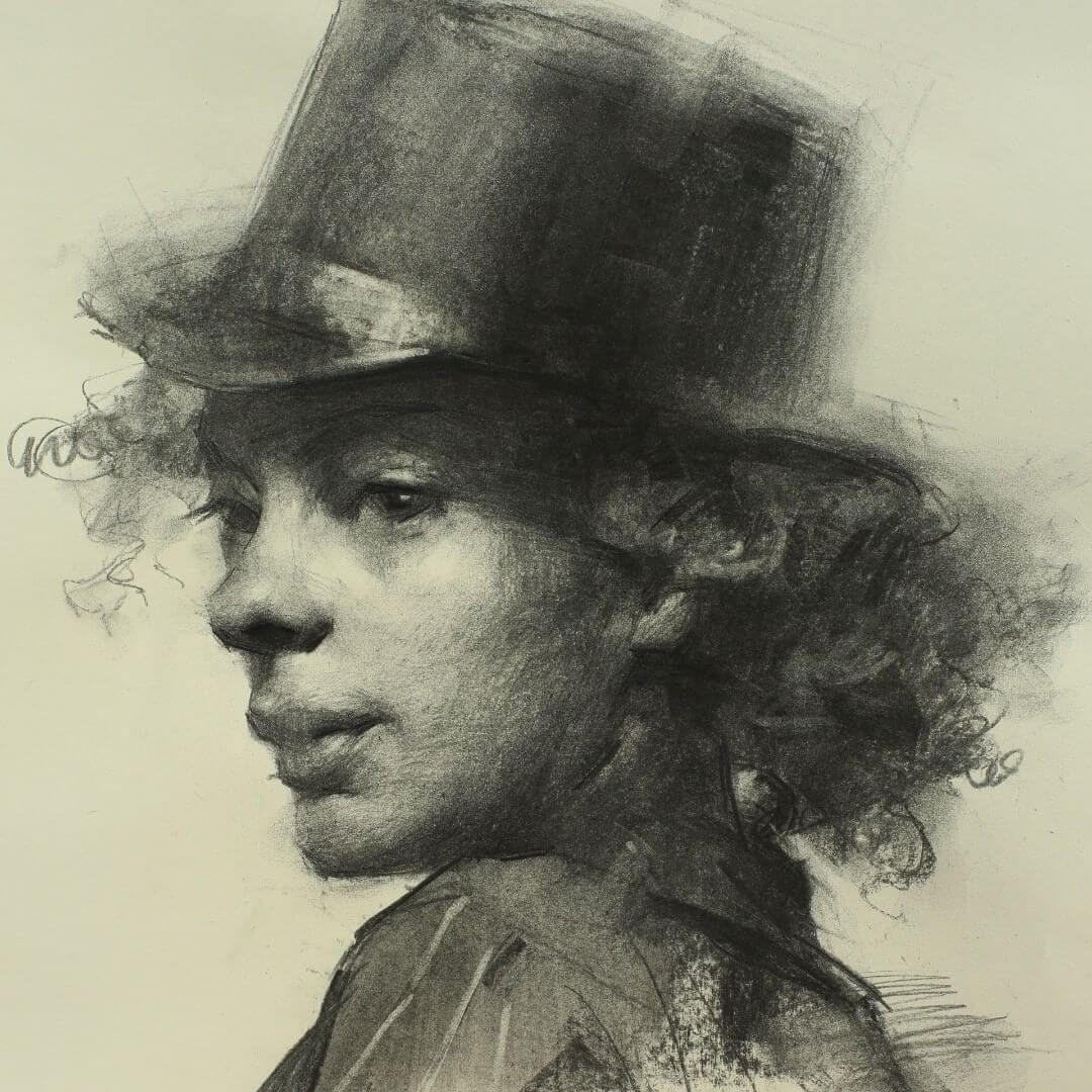 02-Top-Hat-Series-Zhaoming-Wu-Black-and-White-Charcoal-Portraits-www-designstack-co
