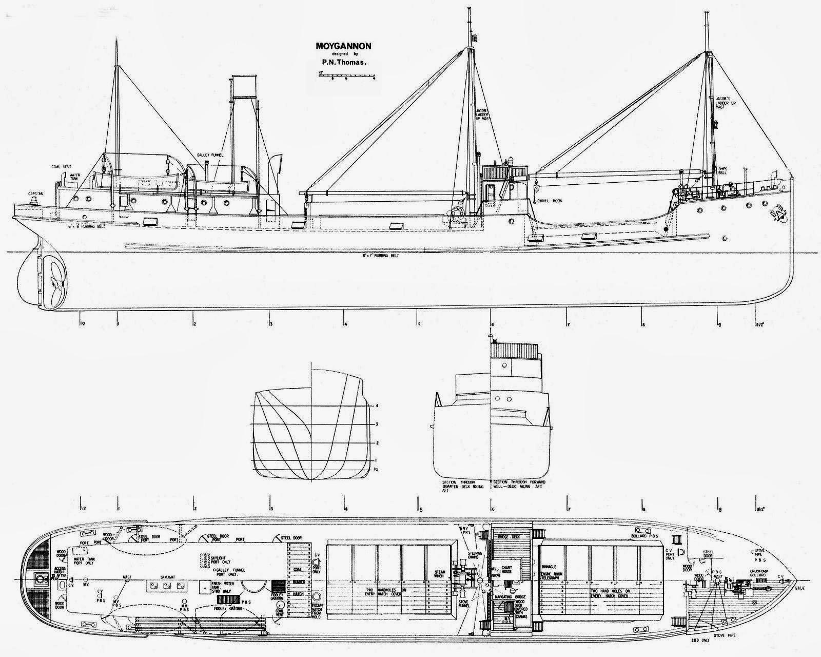 Bonny Musings Raised Quarterdeck Steamer