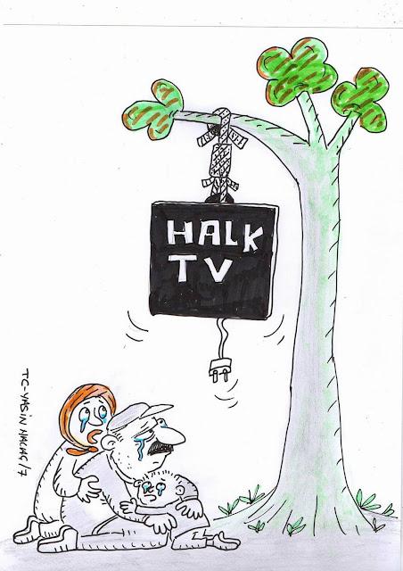 halk tv karikatürü