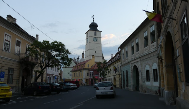 Sibiu - Zentrum mit Rathausturm