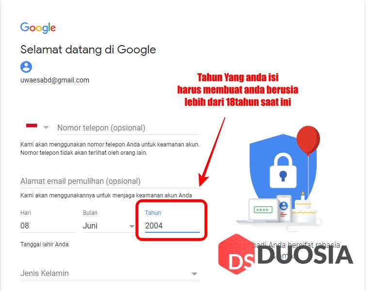 Memalsukan Identitas untuk membuka Youtube Terblokir