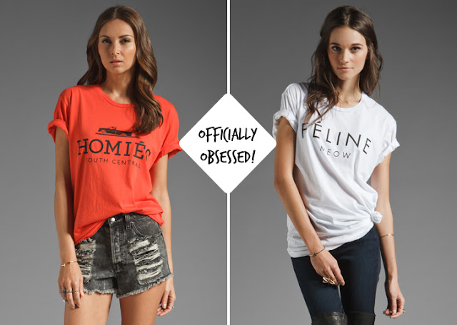 Perfect Obsessed: Homies vs. Hermes and Feline vs. Celine t-shirts MU92