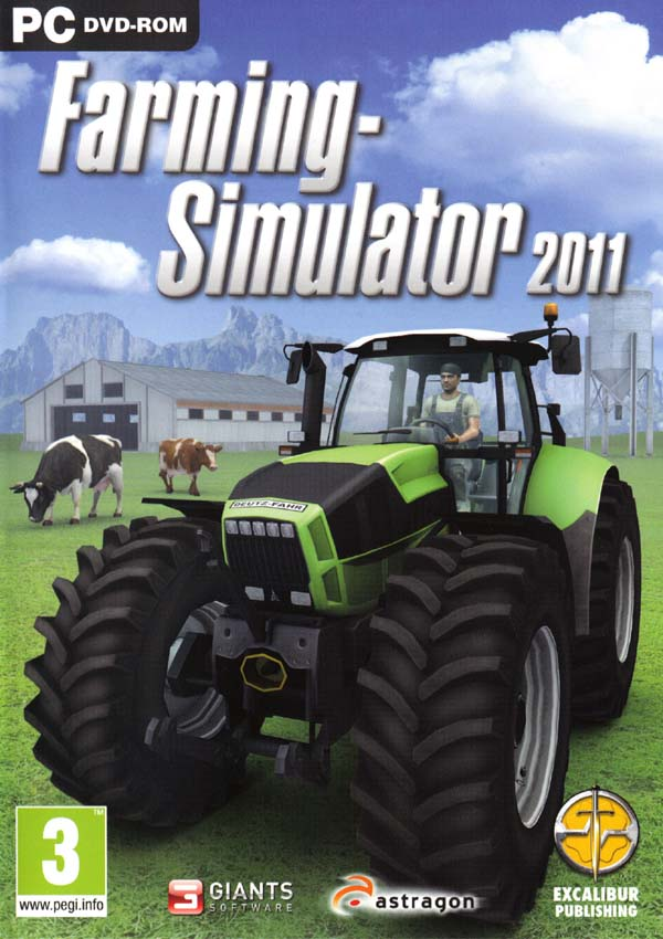 Farming Simulator 2011 Download Cover Free Game