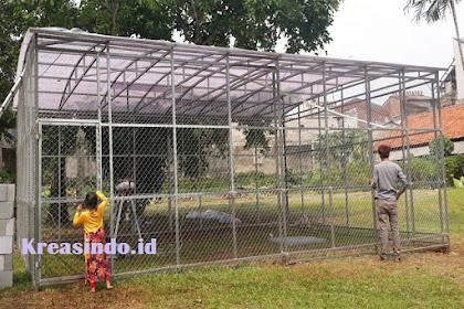 Jasa Kandang Besi di Jakarta untuk Burung Merak Harga Murah