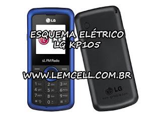 Esquema Elétrico Celular Smartphone LG KP105 Manual de Serviço  Service Manual schematic Diagram Cell Phone Smartphone LG KP105