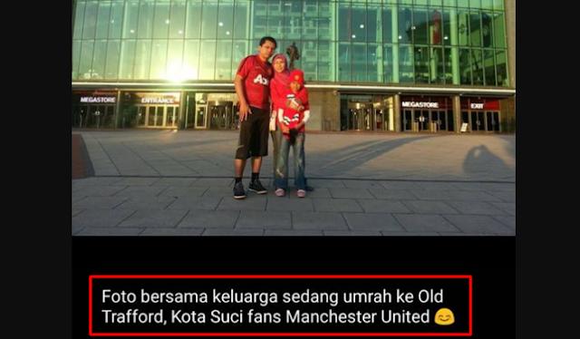 """Zuhairi Misrawi """"Umrah ke Old Traford Kota Suci Fans Manchester United"""""""