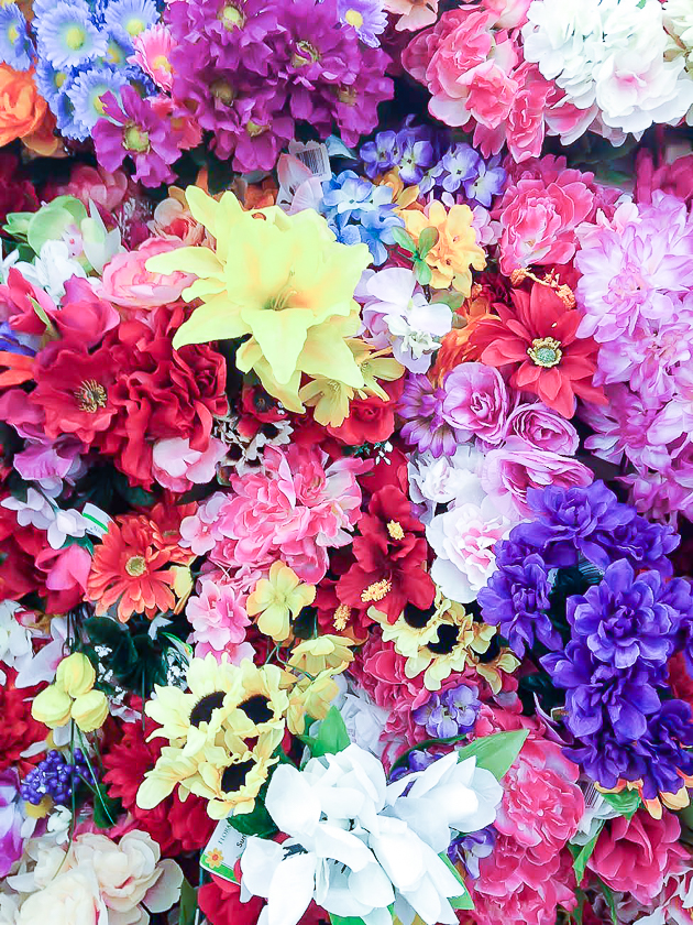 Dollar Tree flowers