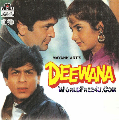 Cover Of Deewana (1992) Hindi Movie Mp3 Songs Free Download Listen Online At worldfree4u.com