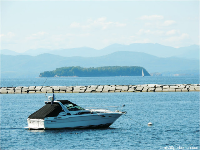 Lago Champlain, Burlington