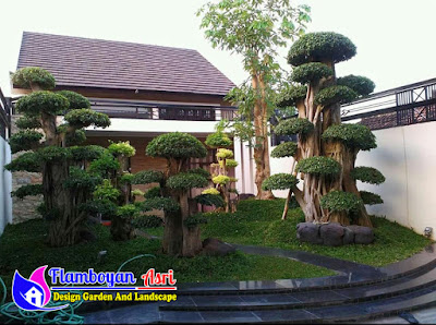 Desain Tukang Taman Mewah Surabaya