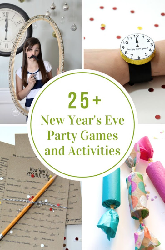 New Years Eve Party Games and Activities The Idea Room