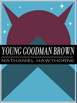 Give an account of how young goodman brown was taken into the  communion of evil.