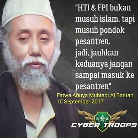 Kenapa HTI dan FPI Dikatakan Sebagai Musuh Pondok Pesantren?
