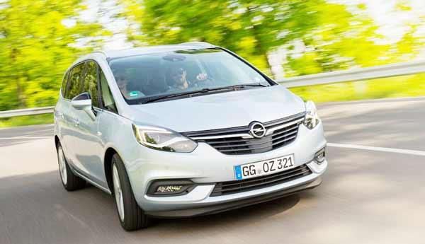 2016 Opel Zafira lounge invites