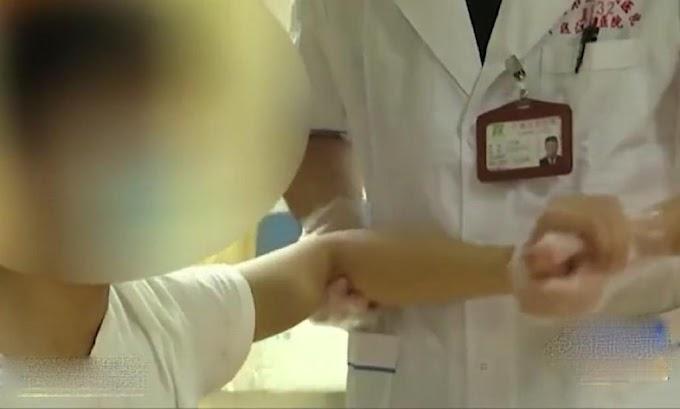 Remaja China lumpuh tangan kiri bermain komputer tanpa henti