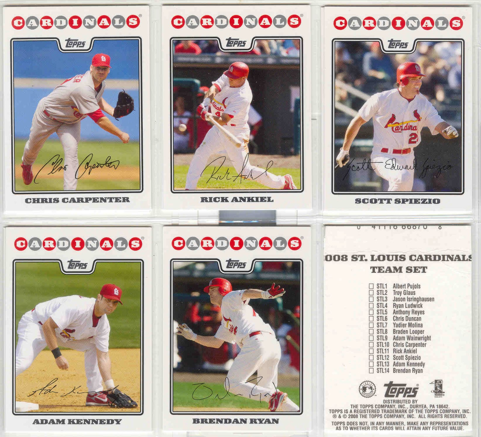 Bdj610s Topps Baseball Card Blog Random Topps Team Set Of