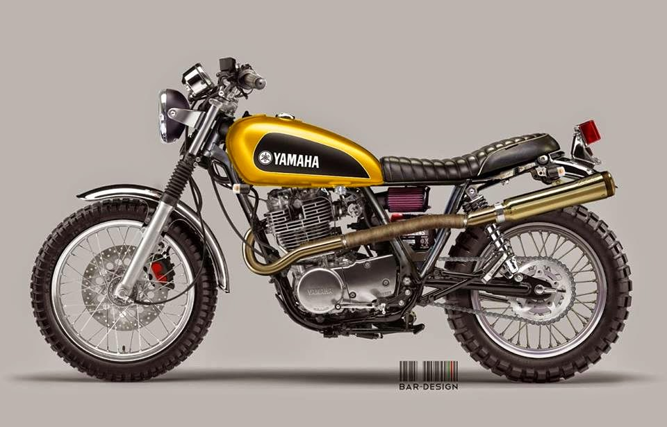 sr 400 scrambler rocketgarage cafe racer magazine. Black Bedroom Furniture Sets. Home Design Ideas