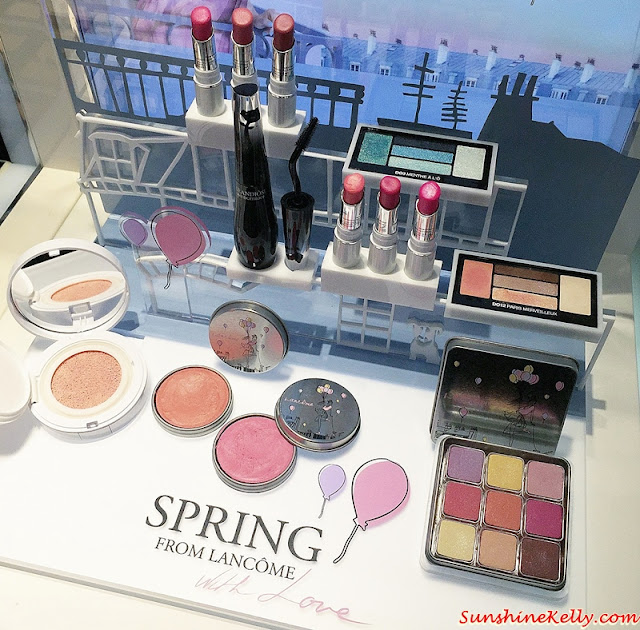 Spring Essentials, Lancome Spring 2016 Collection, Lancome Spring 2016, Limited Edition Collection, Lancome Malaysia, Spring Color, Spring Makeup, My Parisian Pastels, My Parisian Blush, Hypnose Palette