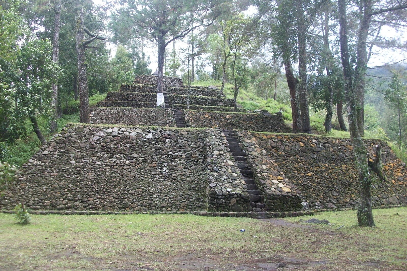 Pyramids in Indonesia - Candi Kethek Central Java