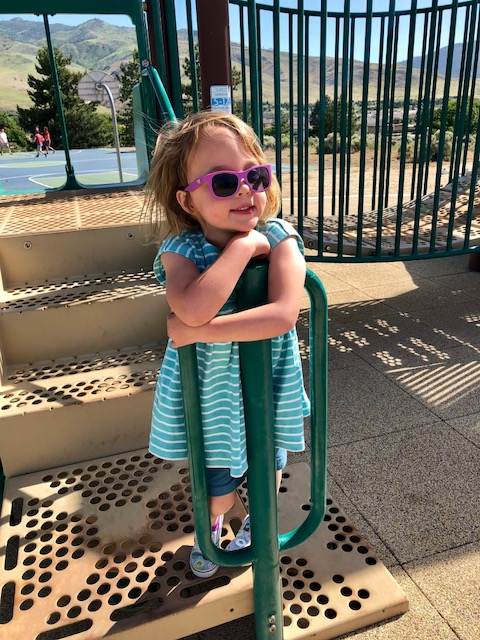 toddler park time