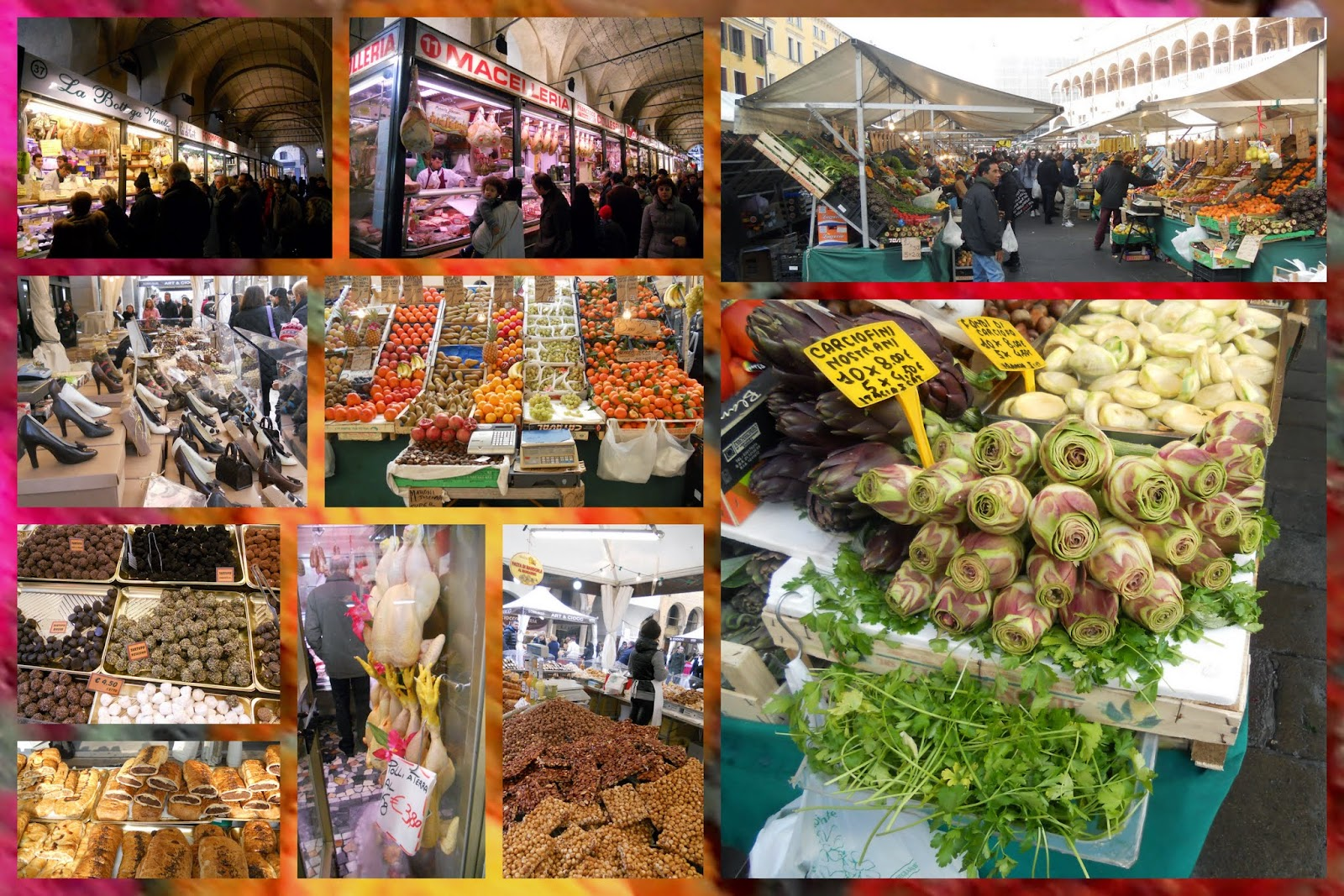 Best Farmers Markets in Italy: Outdoor Food Markets in Padua