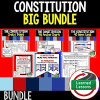 Constitution, Civics Mega Bundle, Government Mega Bundle, Civics and Government Curriculum, Anchor Charts, Games, Digital Interactive Notebook, Google Classroom, Word Wall, Choice Boards, Guided Notes, PowerPoints, Test Prep, Document Based Questions
