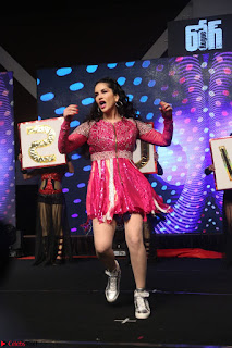 Sunny Leone Dancing on stage At Rogue Movie Audio Music Launch ~  236.JPG