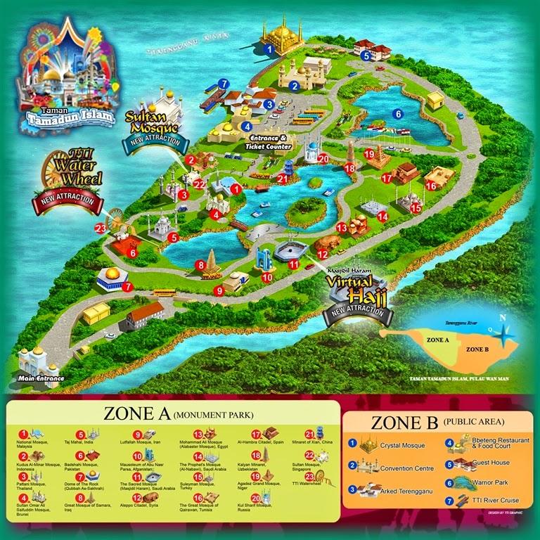 Map To Taman Tamadun