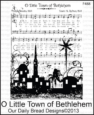 Stamps - Our Daily Bread Designs O Little Town of Bethlehem