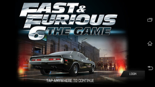 Game Fast & Furious 6 v4.1.2 Apk+Data Android