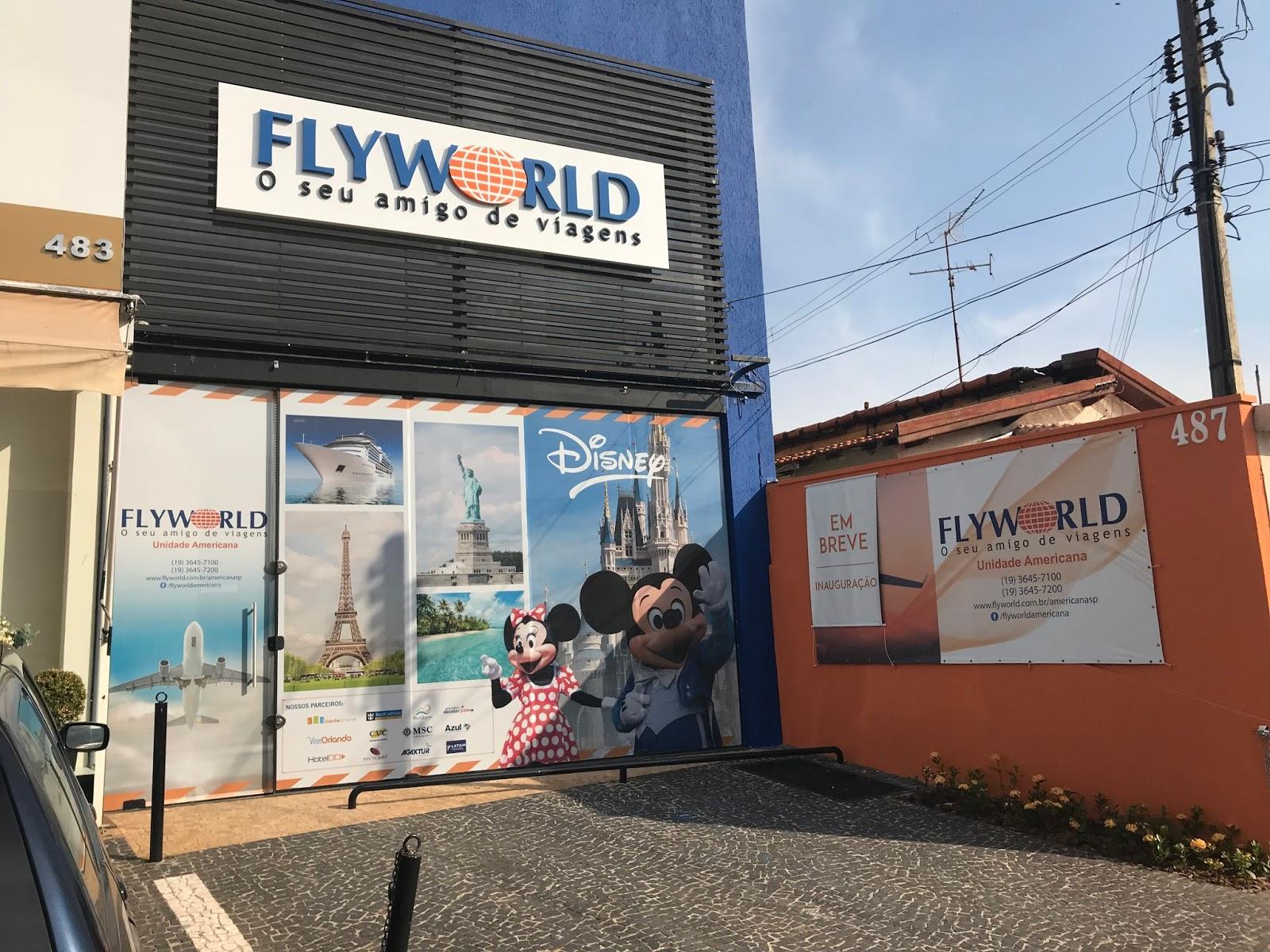 1bf879a98 Os novos franqueados Manuela Belém e Roberto Lima optaram pela franquia  Flyworld por possuírem uma expertise no setor de mais de vinte anos.