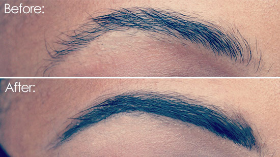 The Natural In Blue How To Finally Grow Them Eyebrows At