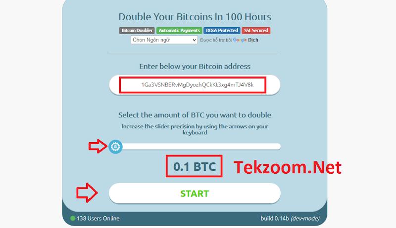 [SCAM] Review Hackbitco : Lãi 200% tsau 100h - Đầu tư tối thiểu 0.001 BTC - Thanh toán tự động