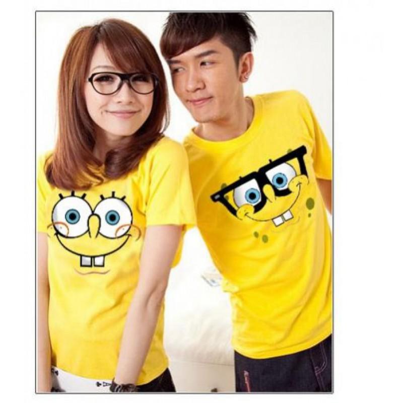 Jual Online OB Spongebob Murah Jakarta Bahan Combed Terbaru