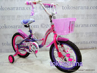 16 Inch Wimcycle Glitter Kids Bike