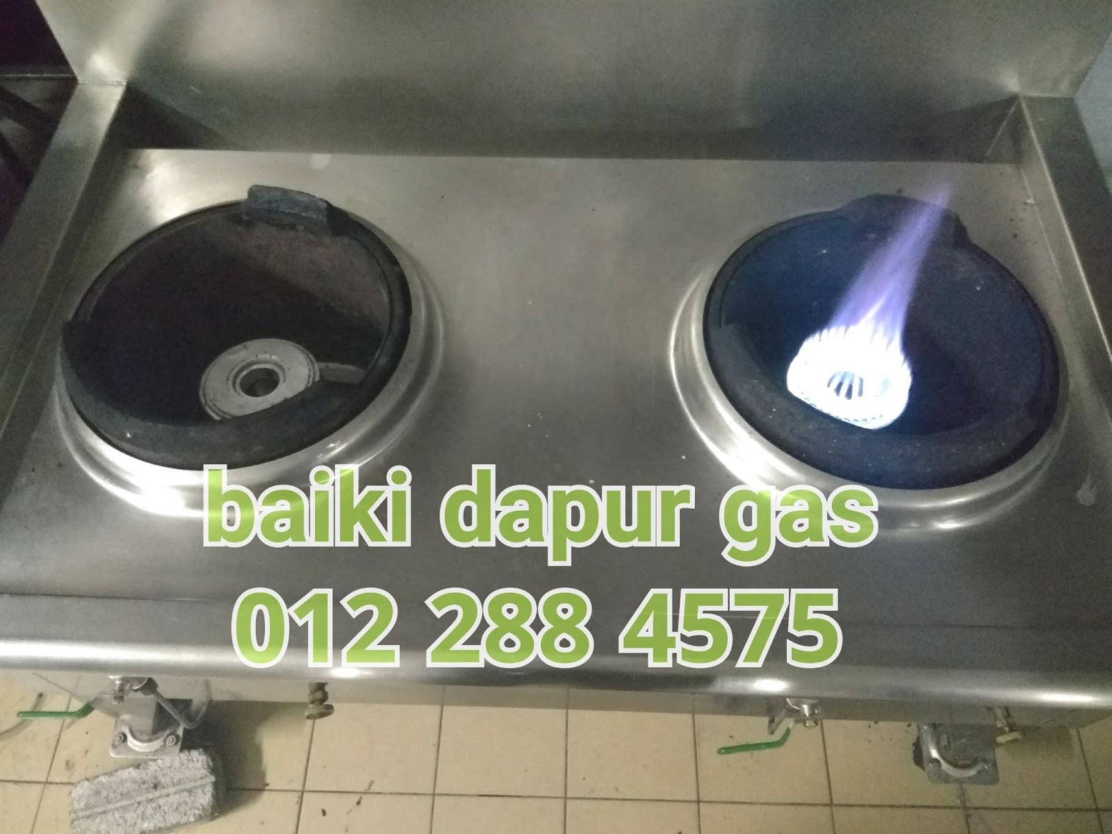 Baiki Dapur Gas Desainrumahid