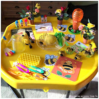 Bee's Needs Week Tuff Tray Bee Activities for Kids
