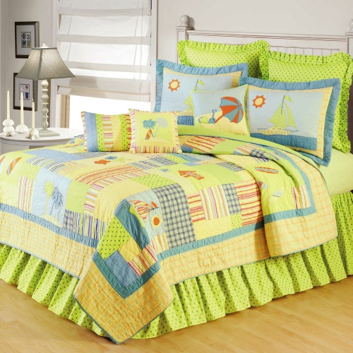 Lime Green Bedding