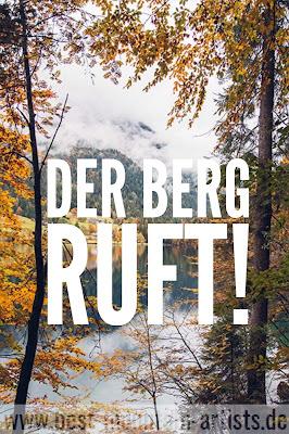 """""""Der Berg ruft!"""", Luis Trenker"""