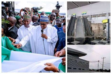See Photos From Abuja New Airport Terminal Commissions By Buhari