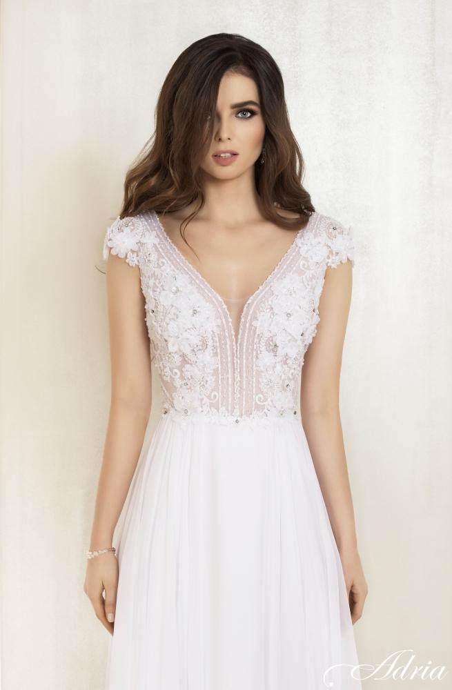 White Inspirations Efektowne Suknie ślubne Z Prostym Lejącym Dołem