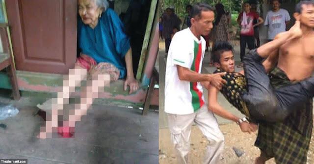 Nenek 89 tahun hilang kaki kiri ditetak penagih dadah